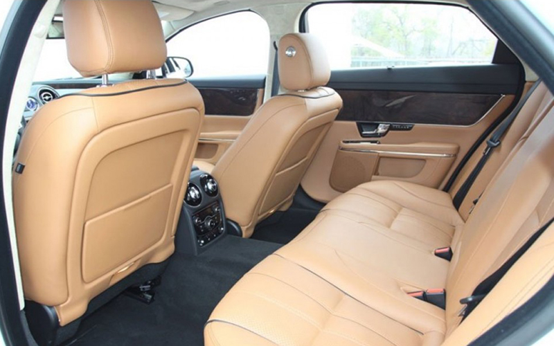 Luxury Leather interior Jaguar XJL